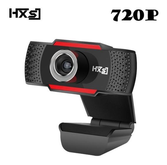 Camera Usb 2mp Computer Webcams S30 Hd 720p Preto