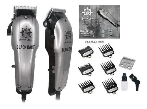 Maquina Corta Pelo Black Bart Barber Line Eurostil Barbería