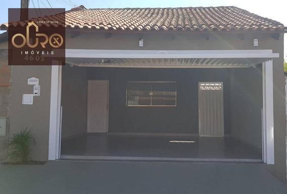 Casa Residencial À Venda, Jardim Noêmia, Franca. - Ca0368
