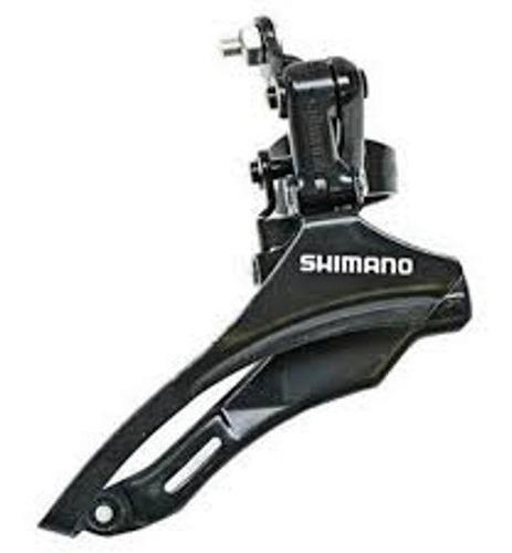 Cambio Dianteiro Shimano Tz-30 Puxa Por Baixo (31.8mm).