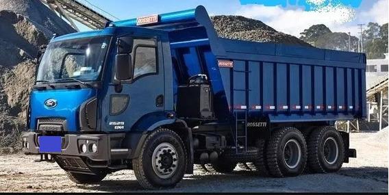 Ford Cargo 2629 6x4 Caçamba Rosseti 14 Mts 2019/20