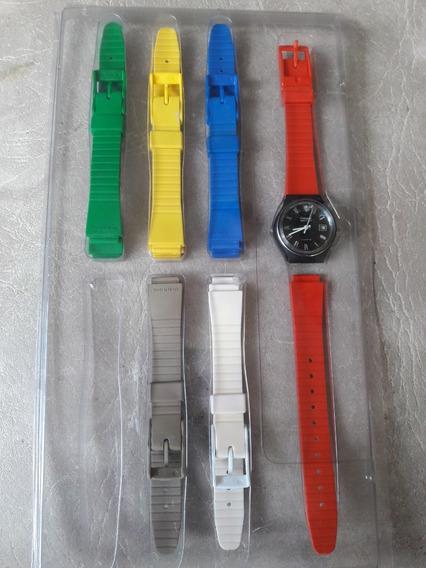 Relógio Champion Watch Antigo Dec 90 Na Cartela Raro Único