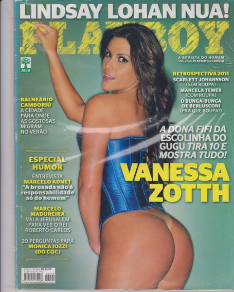 Vanessa Zotth Na Revista Playboy N° 320440 - Jfsc