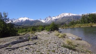 Increible Lote Con Costa De Rio Tigre-cholila-patagonia