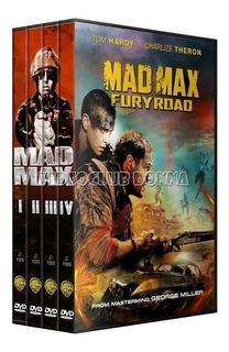 Mad Max Saga Completa 4 Dvd Pack Colección Peliculas