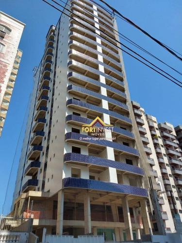 Apartamento Com 2 Dormitórios À Venda, 61 M² Por R$ 368.000,00 - Tupi - Praia Grande/sp - Ap2018