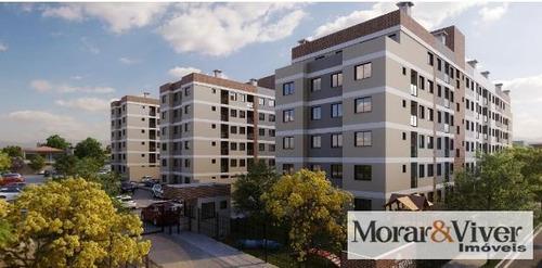 Imagem 1 de 15 de Apartamento Para Venda Em São José Dos Pinhais, Parque Da Fonte, 2 Dormitórios, 1 Banheiro, 1 Vaga - Sjp8558_1-1353400