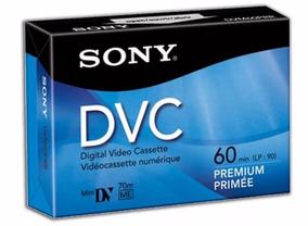 Fita Sony Dvc Minidv Dvm60prr 60 Min Premium