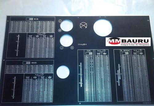 Tabela Da Caixa De Rosca Ms175s 012005031