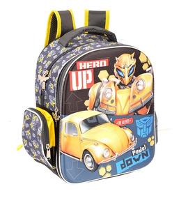 Mochila Kinder Preescolar Ruz Original Transformers 148326