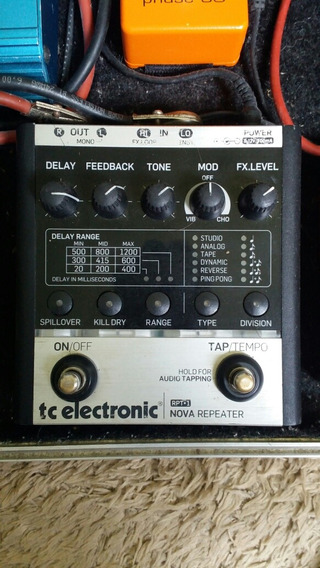 Pedal Tc Eletronic Nova Repeater Delay