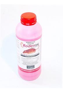 Liquido Veneno Para Ratas De 1 Litro. Bromadiolone. Rodentek