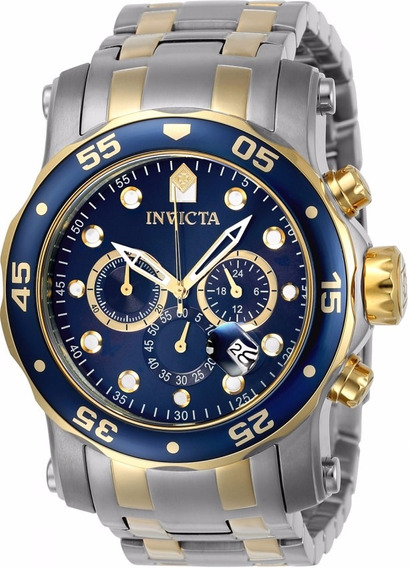 Relógio Invicta Pro Diver Lançamento 23668 Troca Pulseiras