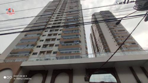 Imagem 1 de 19 de Cobertura Com 3 Dormitórios À Venda, 155 M² Por R$ 950.000 - Boqueirão - Praia Grande/sp - Co0032