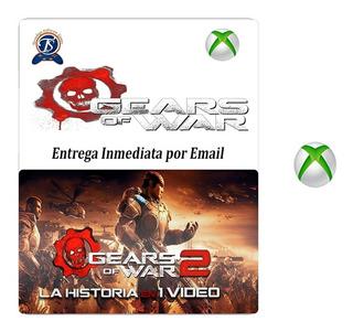 Juego Gears Of War 2 Xbox One/360 Codigo Oficial
