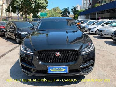 Jaguar F-pace Prestige Ingenium 2.0 Turbo 2018 - Blindado