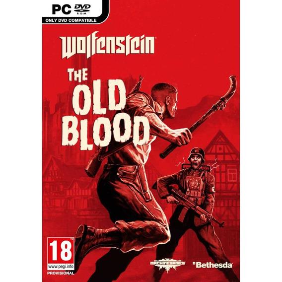 Wolfenstein The Old Blood ( Mídia Física ) Pc Dvd