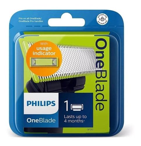 Imagen 1 de 6 de Repuesto Philips Oneblade Qp210 X 1 Cuchilla Qp2521 Qp6510