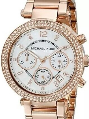 Relógio Michael Kors Rose Mk5419 Feminino