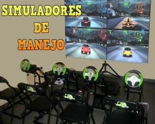 Consola De Video Juegos Arcade Simuladores Ps4
