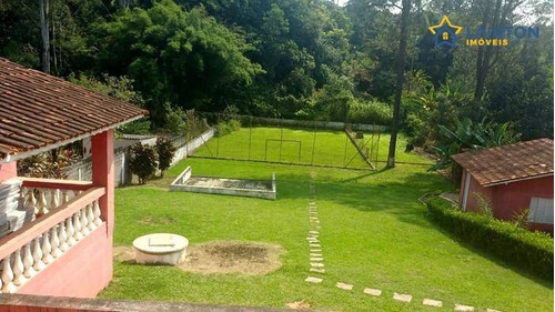 Chácara Com 4 Dormitórios À Venda, 2000 M² Por R$ 890.000,00 - Jardim Estância Brasil - Atibaia/sp - Ch0229