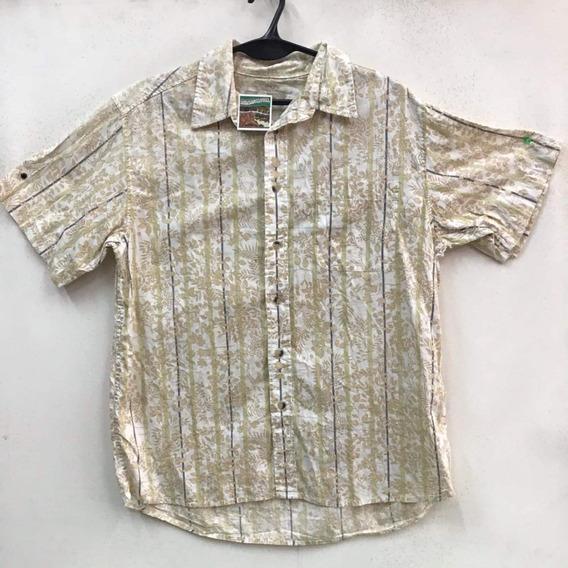 Camisa Hawaiana Floreada Playera Tropical Vintage 233