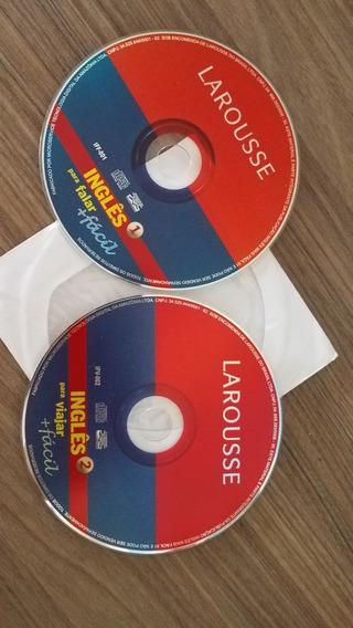 Kit 2x Larousse Inglês Falar Mais Fácil + En P Viajar: 2 Cds