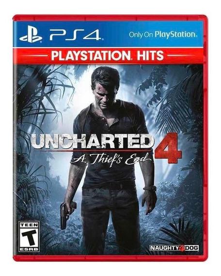 Uncharted 4: A Thiefs End - Mídia Física