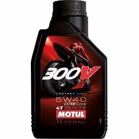 Oleo Motor Motul 300v 5w40 Ester Core 100% Sintetico 4t