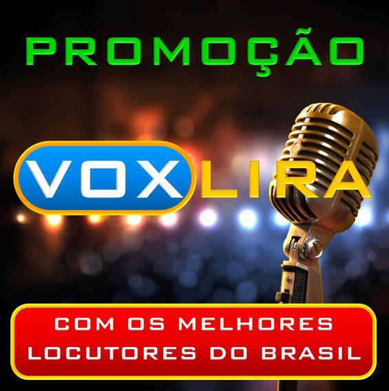 Gravação Comercial, Chamada P/ Rádios, Carros De Som E Lojas