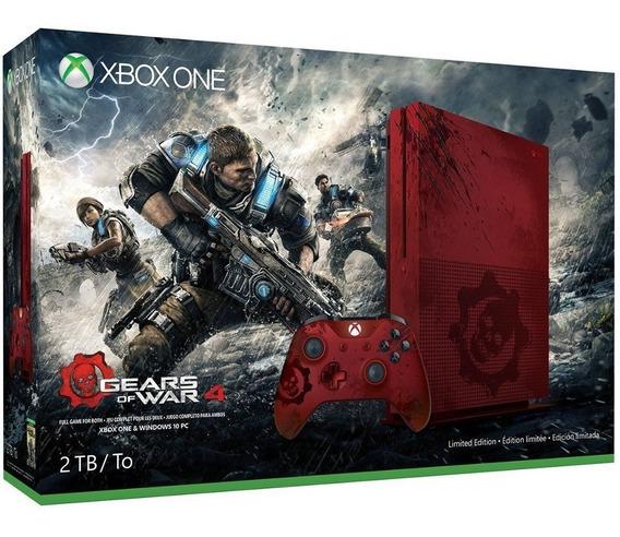 Xbox One S 2tb Gears 4 Limitado Ultimas Unidades