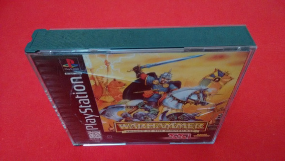 Warhammer Playstation 1 Original Americano Completo Ps1