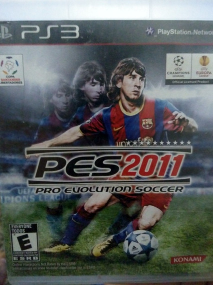 Pes 2011 Ps3 Original , A Pronta Entrega