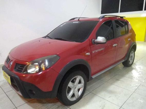 Renault Sandero - Step Way - 2011 - Vermelho