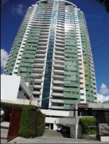 Apartamento Com 4 Dormitórios Para Alugar, 204 M² Por R$ 6.000,00/mês - Casa Forte - Recife/pe - Ap1497