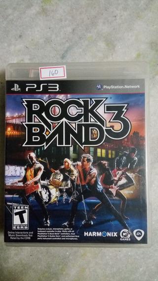 Jogo Sony Ps3 Rockband 3 Original Lote160