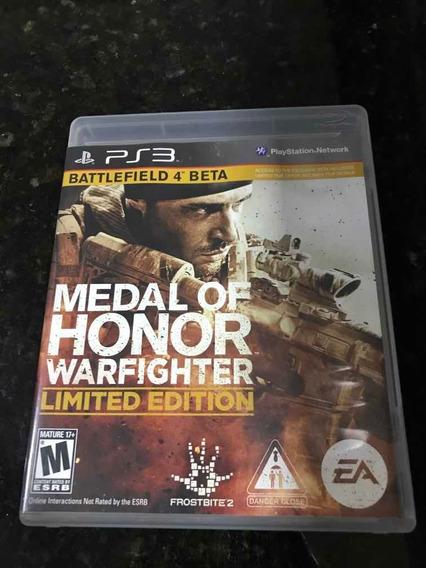 Jogo Ps3 Medal Of Honor Warfighter Original Mídia Física