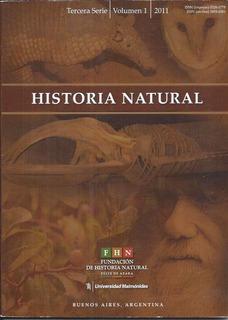 Revista Historia Natural 1(1), 2011