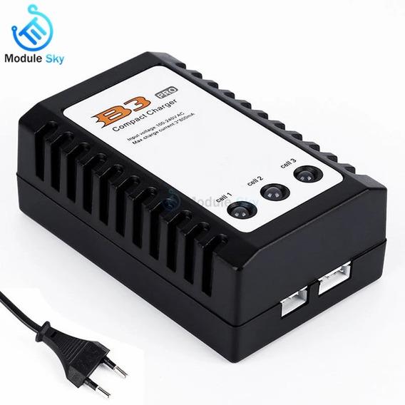 Carregador Lipo Imax B3 Pro 2s 3s De Bateria Rc Universal