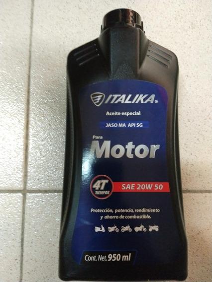 Aceite De Moto 4-tiempos Italika 20w-50