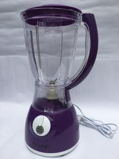 Licuadora 5 Funciones, Morada, Vaso Plástico: Batidos, Jugos
