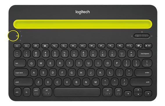 Teclado Logitech K480 Multi-device Bluetooth 920-006348
