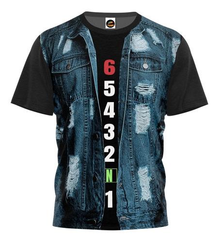 Camiseta Camisa Blusa Jeans Colete Motoclube Caminhoneiro 02