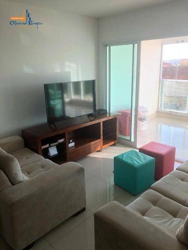 Apartamento Com 3 Dormitórios À Venda, 117 M² Por R$ 600.000,00 - Jundiaí - Anápolis/go - Ap0494