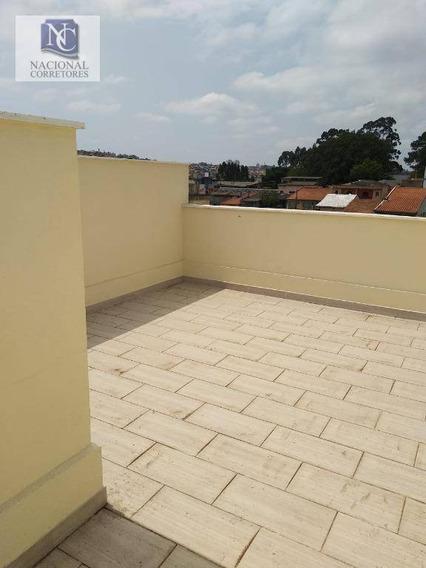 Cobertura Com 2 Dormitórios À Venda, 88 M² Por R$ 240.000,00 - Jardim Santo Alberto - Santo André/sp - Co4528
