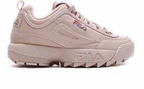 5c98138f36 Tênis Branco E Rosa Importado Basquete Tenis Fila Adultos - Calçados ...