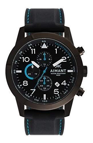 Relogio Masculino Aimant Gbe-190si1-11 Azul - Frete Gratis