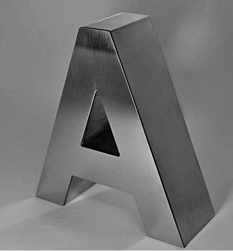 Letras Metalicas