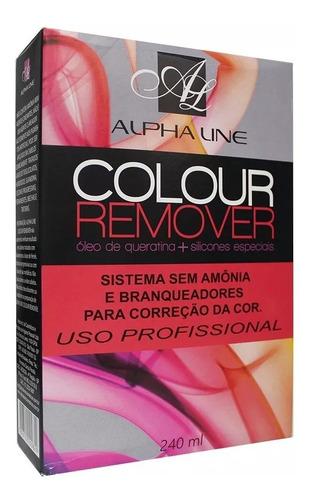 Imagem 1 de 2 de Colour Remover Alpha Line Sem Amônia 240ml