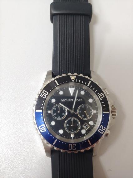 Relógio Michael Kors Mk8366 Chronograph Blue